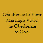 how to keep marriage vows
