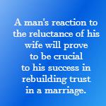 rebuilding trust in a marriage