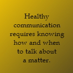 healthy communication in marriage