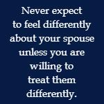 no feelings for husband