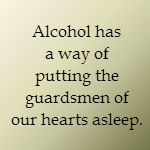 alcohol and adultery