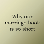 short book on marriage