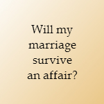 will my marriage survive an affair