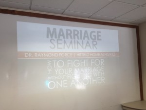 marriage seminar speaker