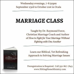 marriage class ocala fl