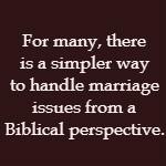 simple marriage advice