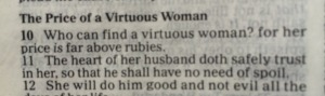 scriptures on being a good wife