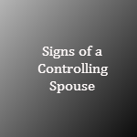 signs of a controlling spouse